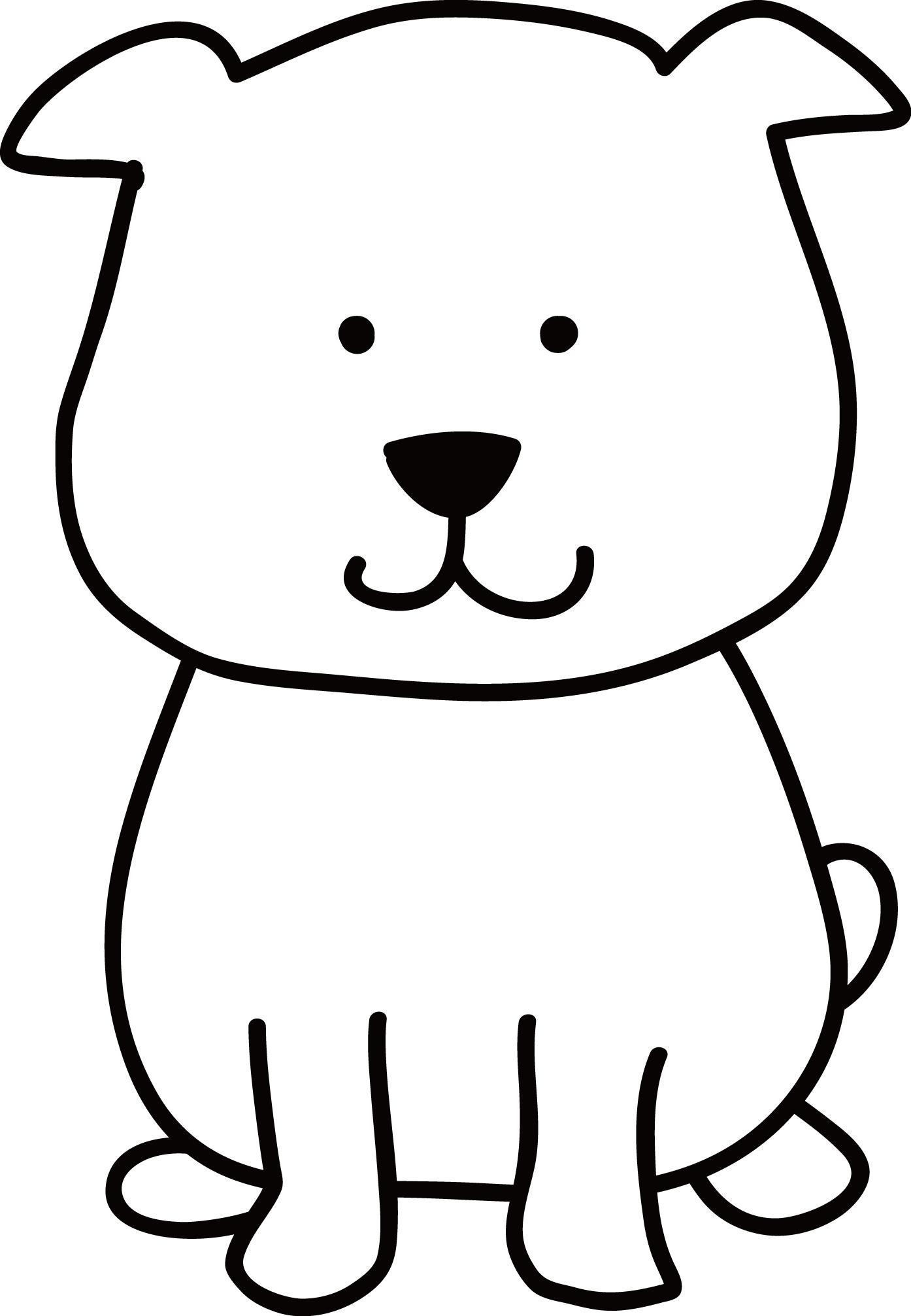 年賀状イラスト素材 戌 いぬ 白い犬ダウンロード かわいい無料イラスト 年賀素材館